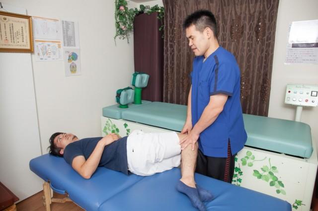 腰痛整体 再検査