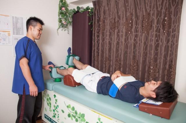 腰痛 整体 機械