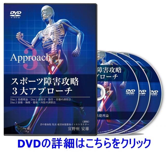 スポーツ障害攻略3大アプローチ DVD